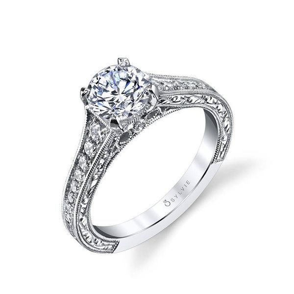Vintage Inspired Engagement Ring *SETTING ONLY* Holtan's Jewelry Winona, MN