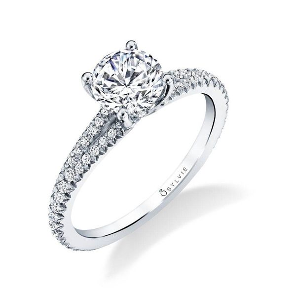 Classic Split Shank Engagement Ring *SETTING ONLY* Holtan's Jewelry Winona, MN