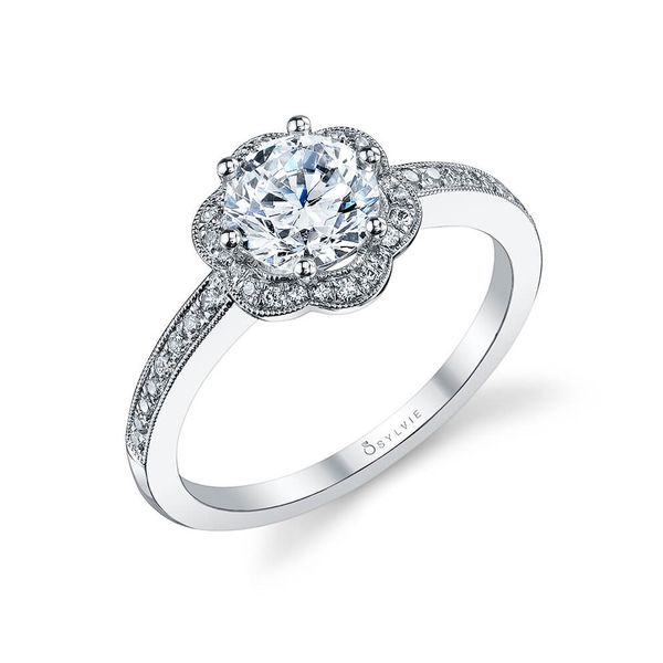 Award Winning Floral Engagement Ring *SETTING ONLY* Holtan's Jewelry Winona, MN