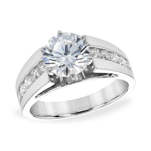Channel Set Engagement Ring Holtan's Jewelry Winona, MN