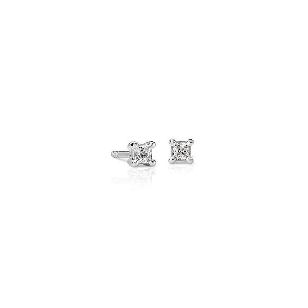 0.33cttw Princess Cut Diamond Stud Earrings Holtan's Jewelry Winona, MN