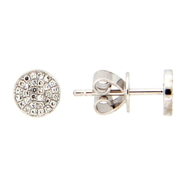 Mini Pave Diamond Earrings Holtan's Jewelry Winona, MN