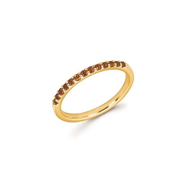 14k Yellow Gold Citrine Stackable Ring Holtan's Jewelry Winona, MN