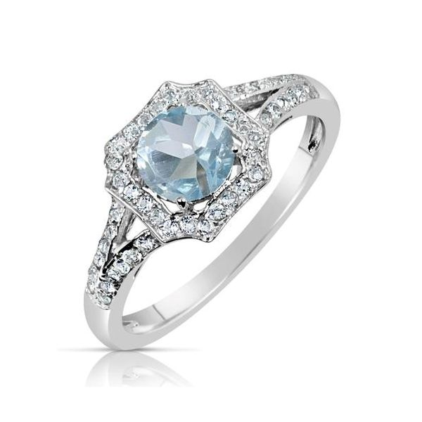 Sterling Silver Blue Topaz Ring Holtan's Jewelry Winona, MN