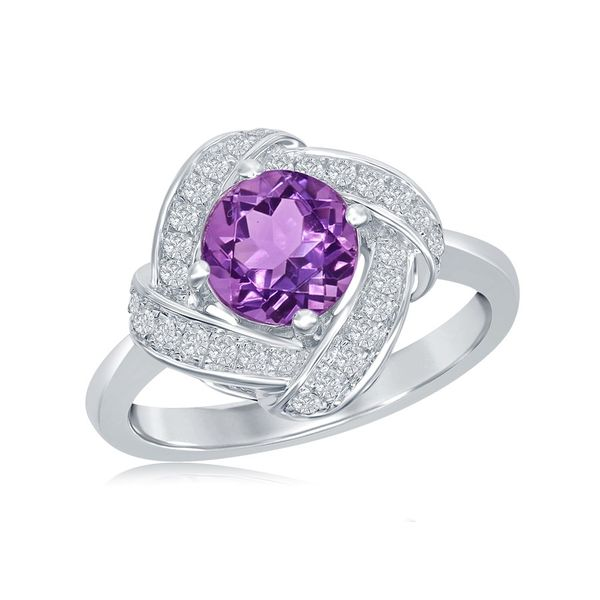 Sterling Silver Amethyst Ring Holtan's Jewelry Winona, MN