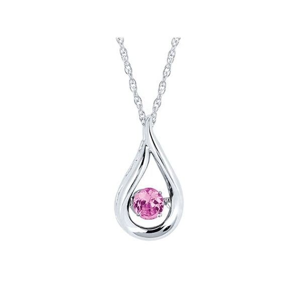 Sterling Silver Pink Tourmaline Pendant Holtan's Jewelry Winona, MN