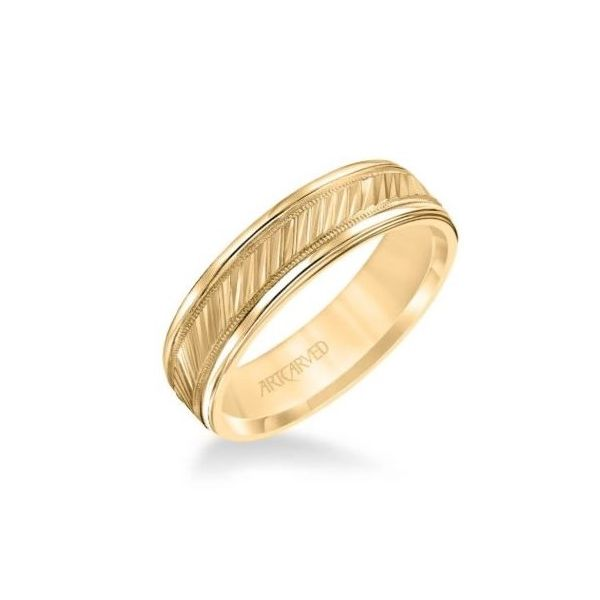 ArtCarved Wedding Band Image 2 Holtan's Jewelry Winona, MN