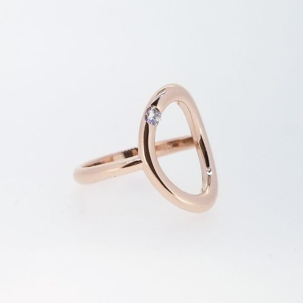 Custom 14k Rose Gold Ring Image 2 Holtan's Jewelry Winona, MN