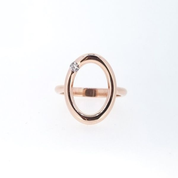 Custom 14k Rose Gold Ring Holtan's Jewelry Winona, MN