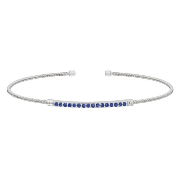 Simulated Blue Sapphire Bracelet Holtan's Jewelry Winona, MN