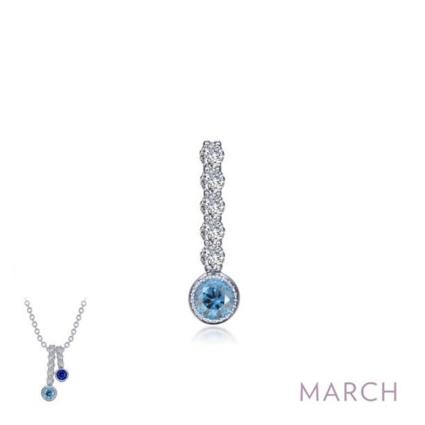 Stackable March Birthstone Pendant *Chain Sold Separately* Holtan's Jewelry Winona, MN