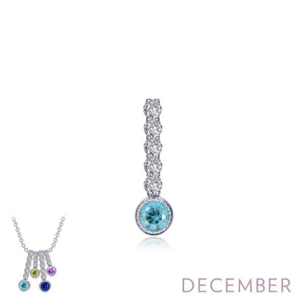 Stackable December Birthstone Pendant *Chain Sold Separately*  Holtan's Jewelry Winona, MN