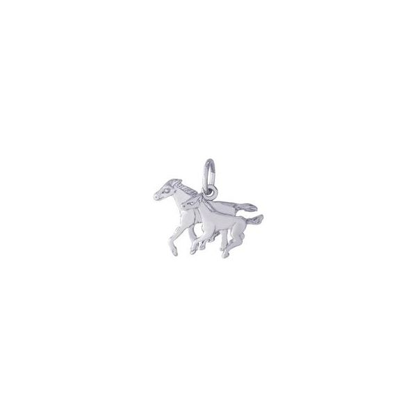Horse and Colt Charm Holtan's Jewelry Winona, MN