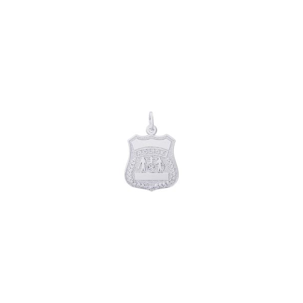 Police Badge Charm Holtan's Jewelry Winona, MN