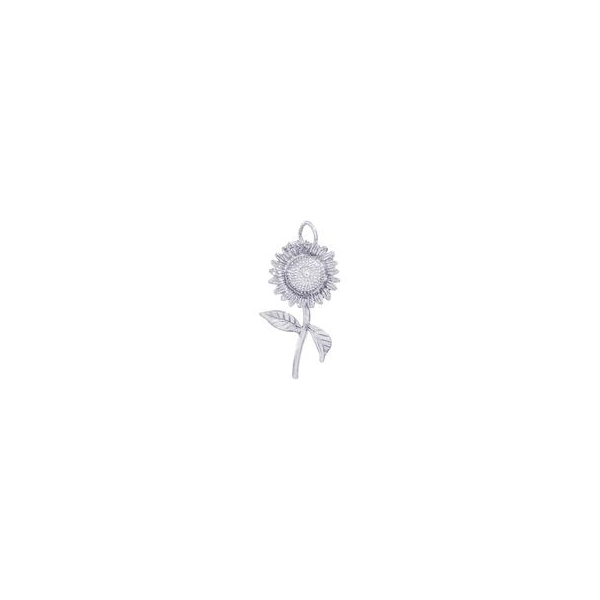 Sunflower Charm Holtan's Jewelry Winona, MN