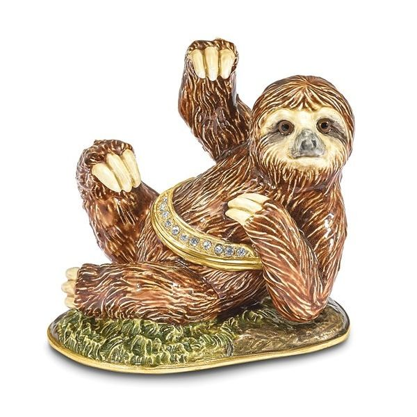 Sloth Trinket Box Holtan's Jewelry Winona, MN