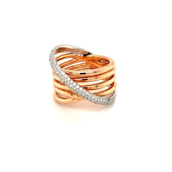 14K Gold Diamond Ring Jais Providenciales,
