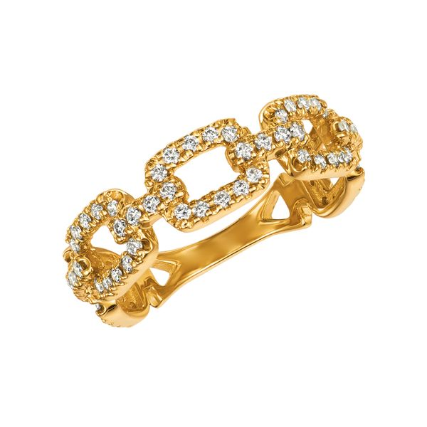 Diamond chain style ring Jais Providenciales,