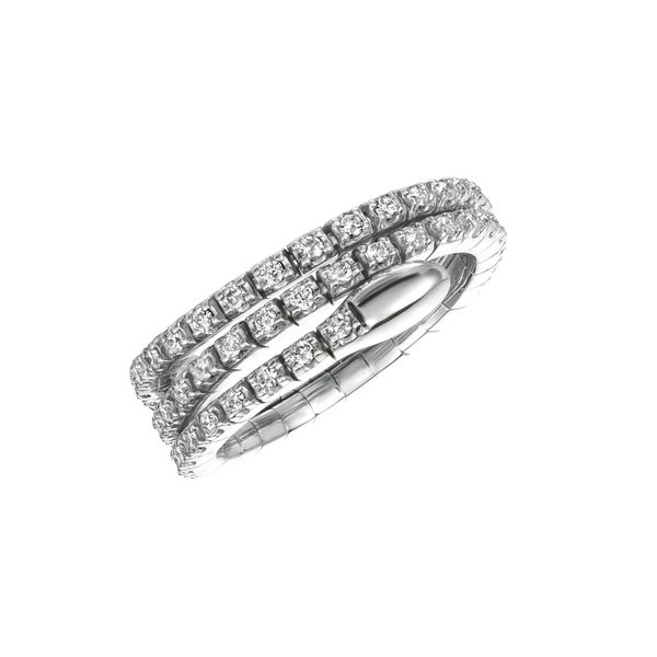 Flexible Diamond Ring Jais Providenciales,