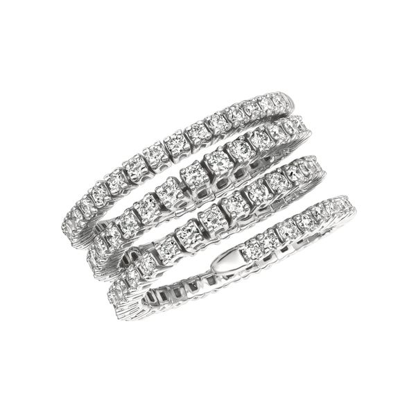 Diamond Flexible Ring Jais Providenciales,