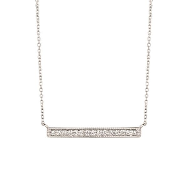 Diamond bar necklace Jais Providenciales,