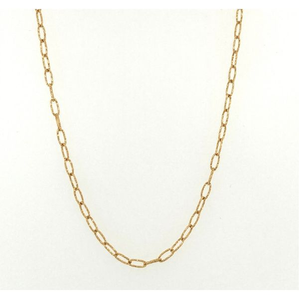 Yellow Gold Chain Jais Providenciales,