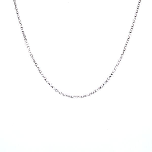 White Gold Chain Jais Providenciales,