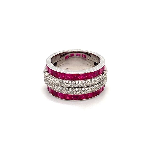 Ruby and Diamond Ring Jais Providenciales,