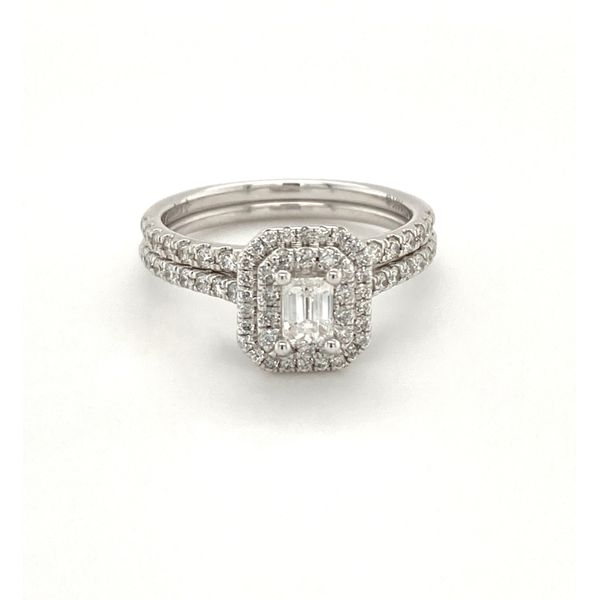 Bridal Diamond Ring Set of 2 Jais Providenciales,