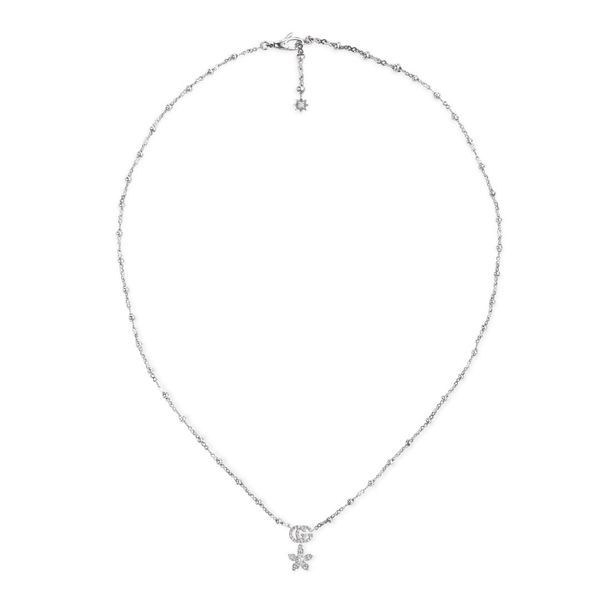 Flora diamond Necklace Jais Providenciales,