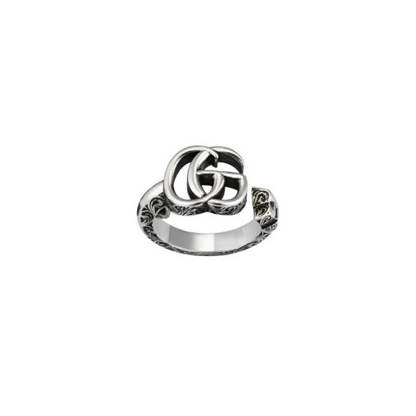Double G key silver ring Image 2 Jais Providenciales,