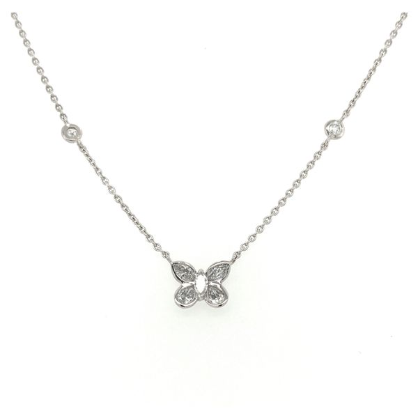 Butterfly Diamond Necklace Jais Providenciales,