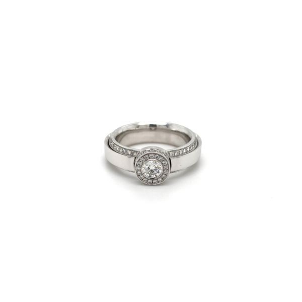 Diamond Solitaire Ring Jais Providenciales,