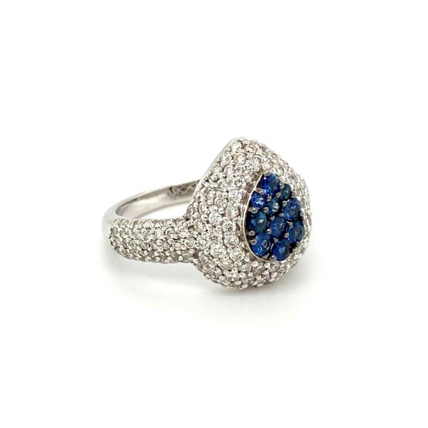 Sapphire and Diamond Ring Image 2 Jais Providenciales,