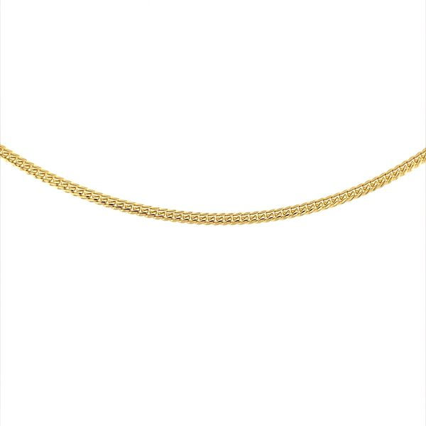 Gold Anklet Jais Providenciales,
