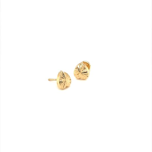 Gold Earring Jais Providenciales,