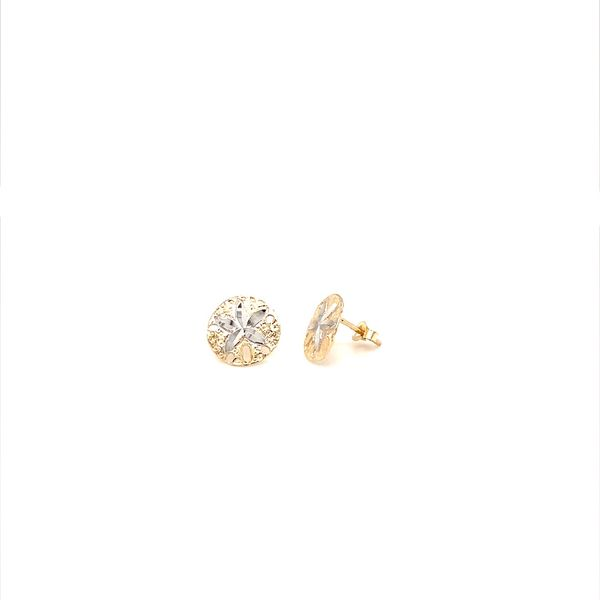 Gold Earrings Image 2 Jais Providenciales,