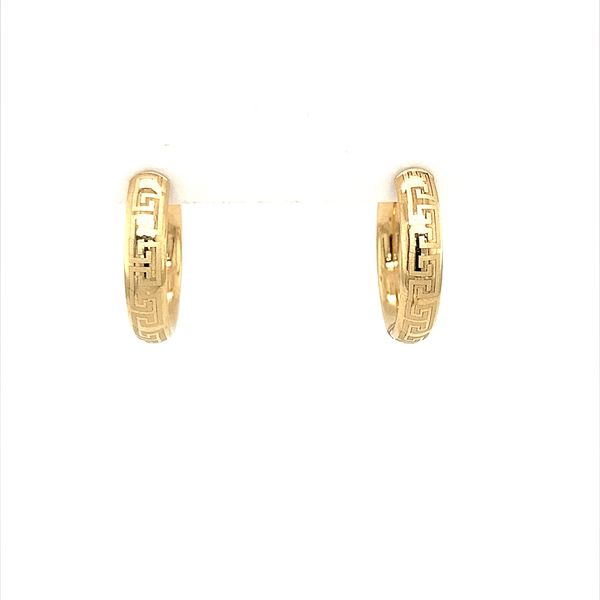 Gold Hoop Earrings Image 2 Jais Providenciales,