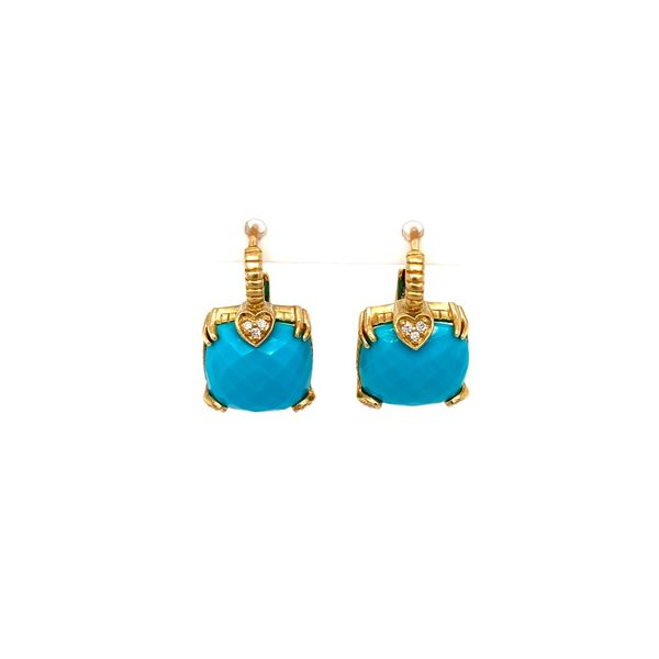 Lola Turquoise Earrings Jais Providenciales,