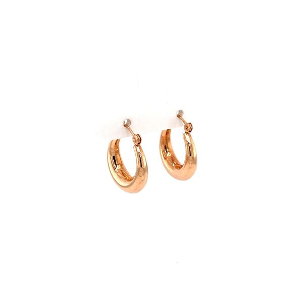 14K Hoop Earrings Image 2 Jais Providenciales,