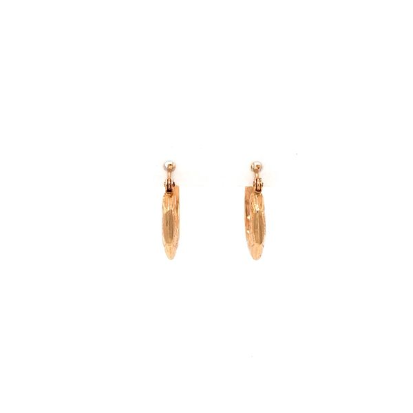14K Hoop Earrings Jais Providenciales,