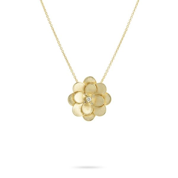 Petali Large Flower Necklace Jais Providenciales,
