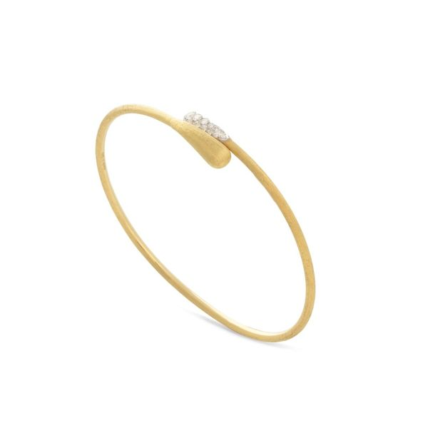 Lucia Gold Bangle Jais Providenciales,