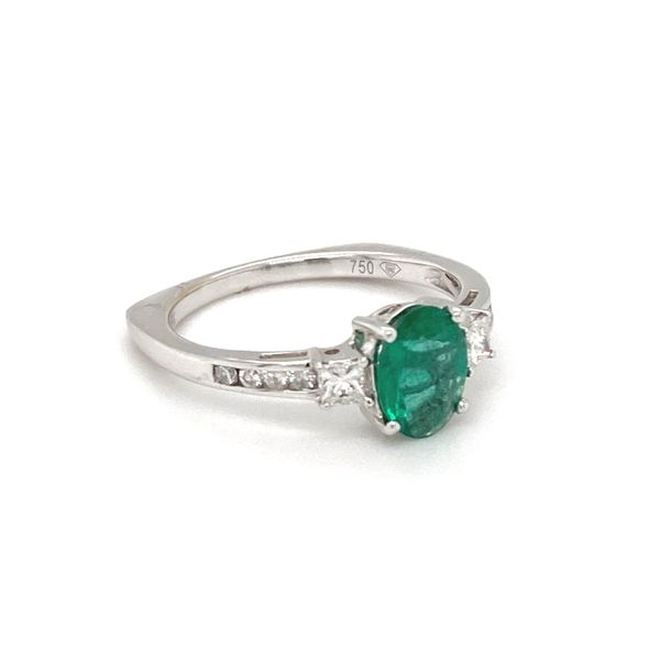Emerald and Diamond Ring Image 2 Jais Providenciales,