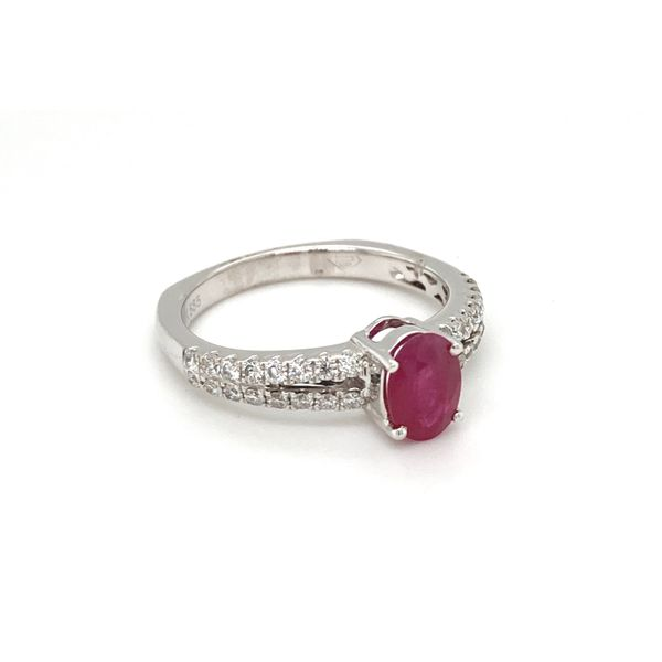Ruby and Diamond Ring Image 2 Jais Providenciales,