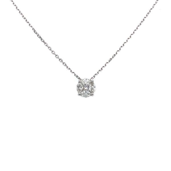 Diamond Necklace Jais Providenciales,