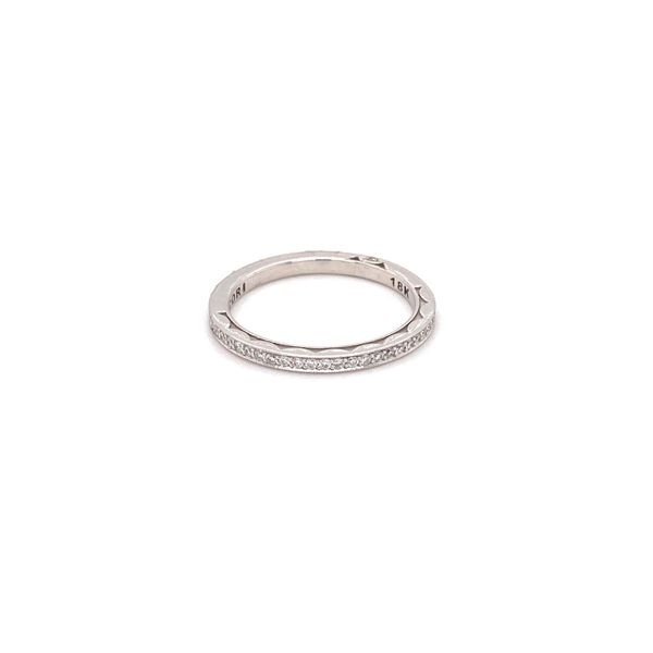 Sculpted Crescent Eternity Diamond Band Jais Providenciales,