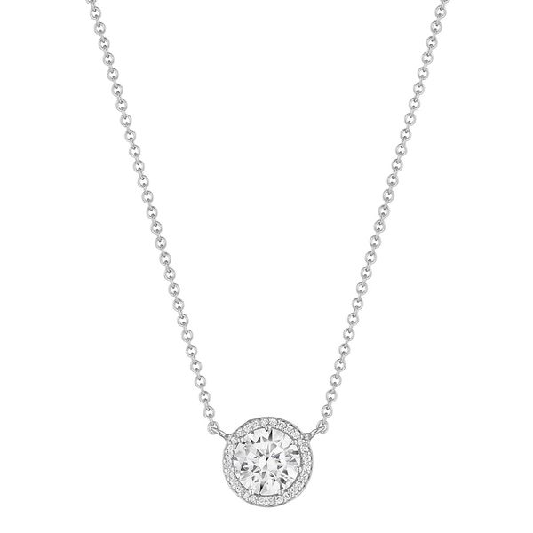 Diamond Solitaire Necklace Jais Providenciales,