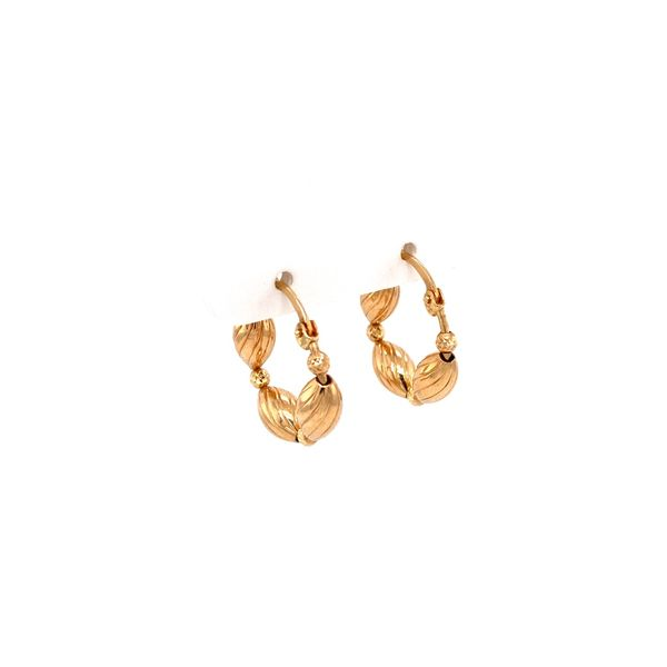 14K Gold Earrings Image 2 Jais Providenciales,