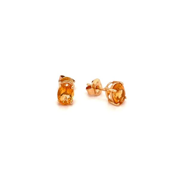 Citrine Earrings Image 2 Jais Providenciales,